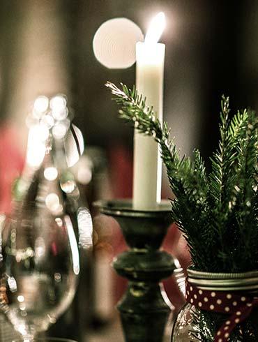 Julbord på Uddetorp Säteri