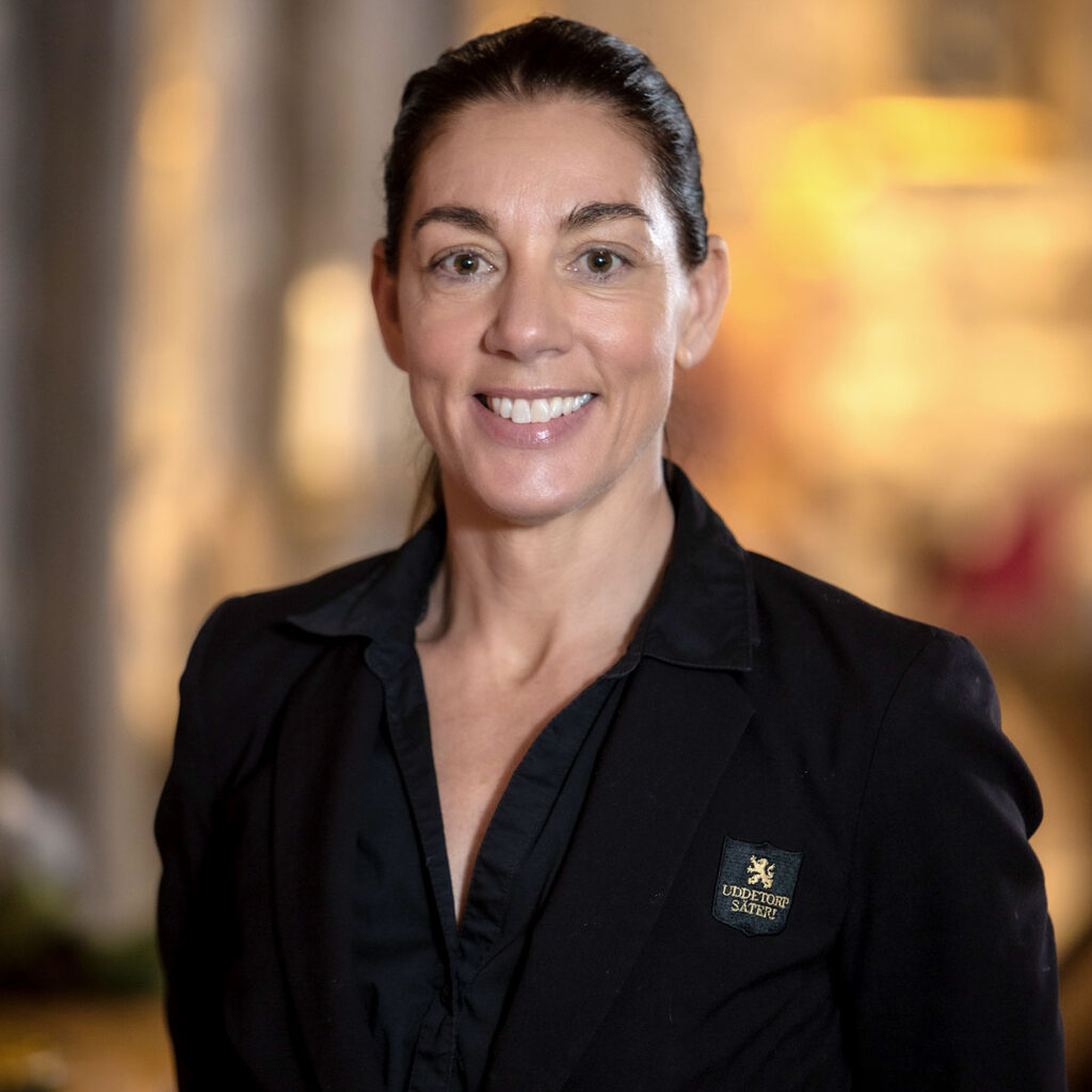 Beatrice Eliasson, restaurangchef på Uddetorp Säteri